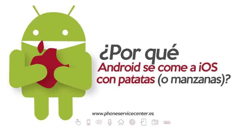ventajas de Android sobre iOS