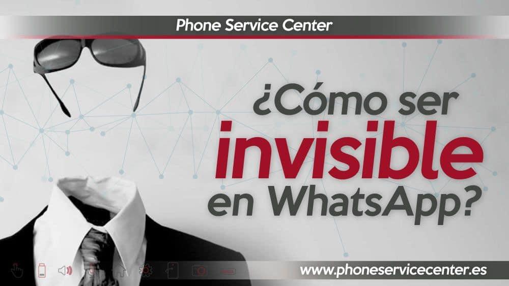 como ser invisible en WhatsApp
