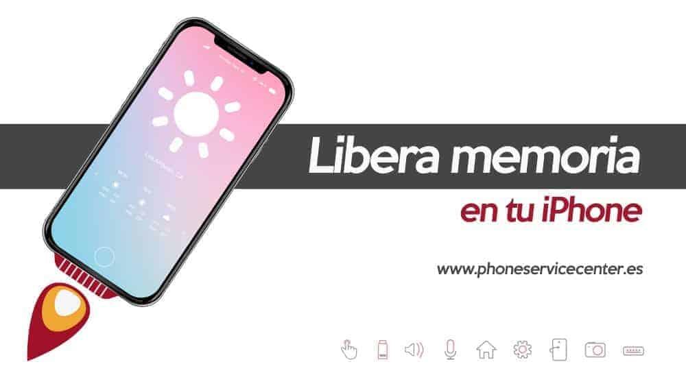 libera memoria en tu iphone