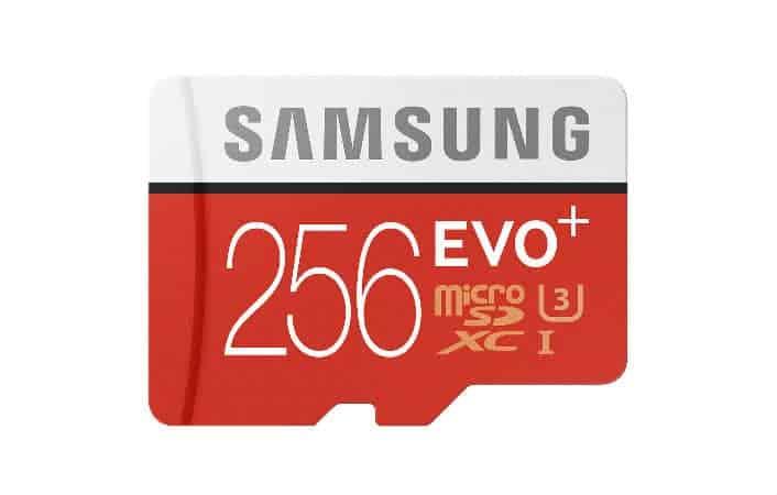 micro sd evo-256