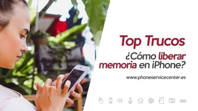 liberar memoria en iphone