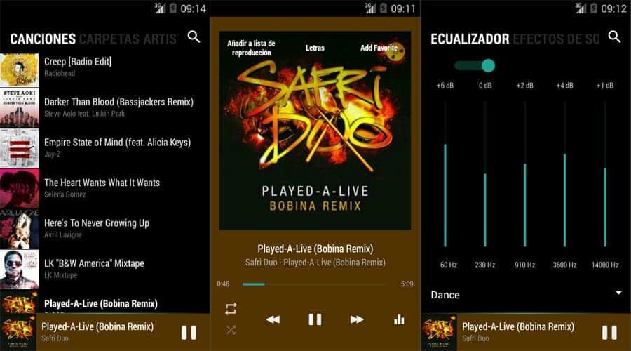 Top Ten de Apps para escuchar música - Reparación de