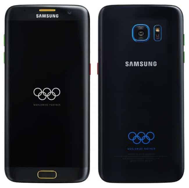 Samsung Galaxy S7 edición Olimpiadas Rio 2016