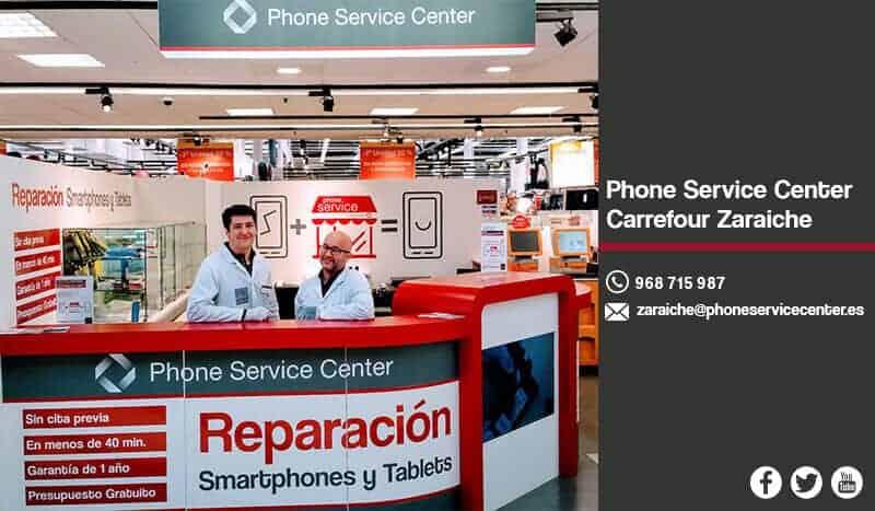 Reparacion de moviles en Murcia Phone Service Center Carrefour Zaraiche