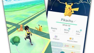 Pokémon GO_Pikachu al inicio
