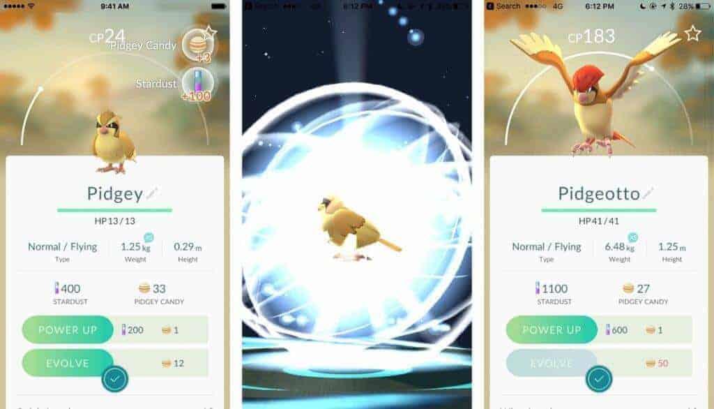 Pokemon-go-evolucion