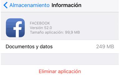 borrar app