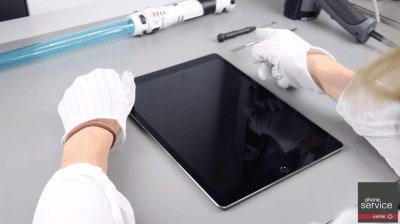Comprobamos que el iPad Pro este apagado