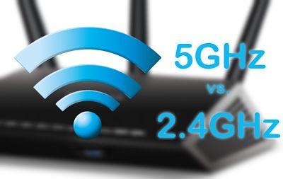 Conexión WiFi a 5 GHZ vs. a 2.4 GHz
