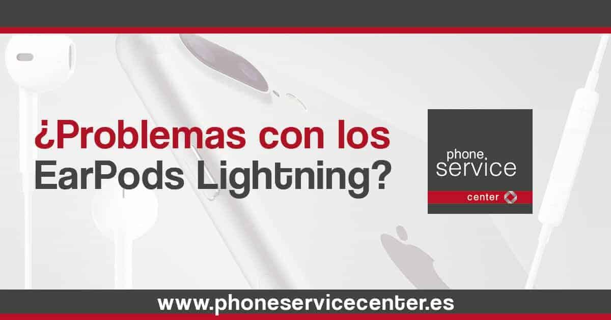 ¿Problemas con los EarPods Lightning-