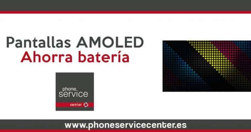 ahorrar bateria con pantallas AMOLED