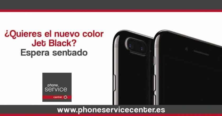¿Quieres el nuevo Jet Black en tu iPhone 7? Espera sentado