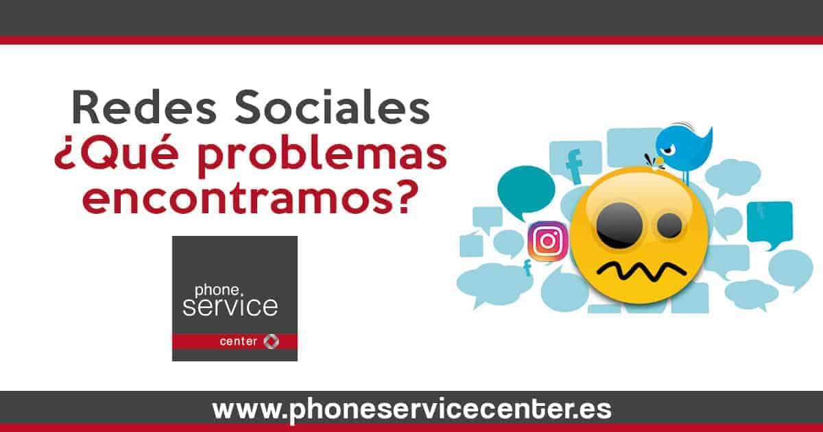 Redes Sociales_Problemas que encontramos