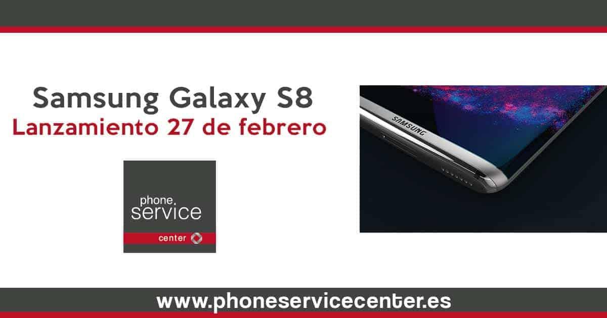 Samsung Galaxy S8_lanzamiento 27 de febrero