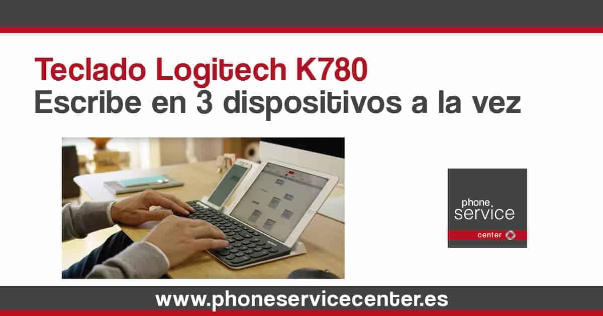Teclado Logitech K780 escribe hasta en 3 dispositivos a la vez