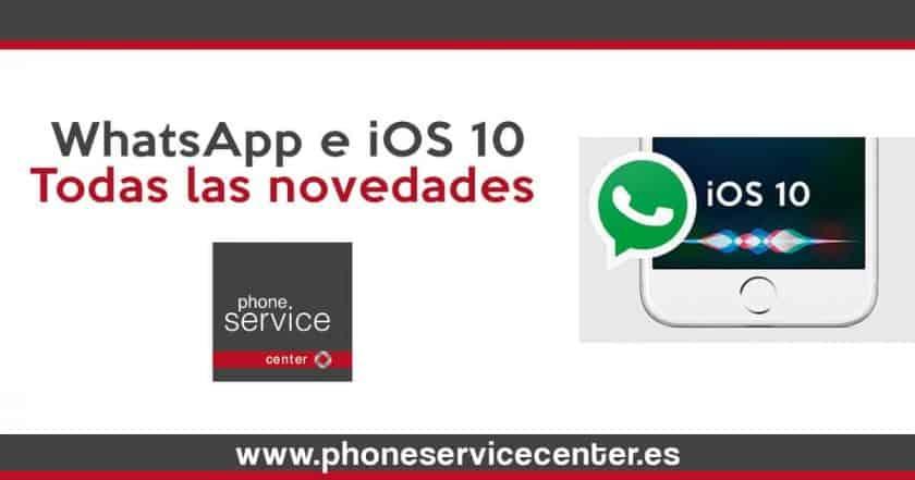 WhatsApp en iOS 10- Siri, widgets y llamadas