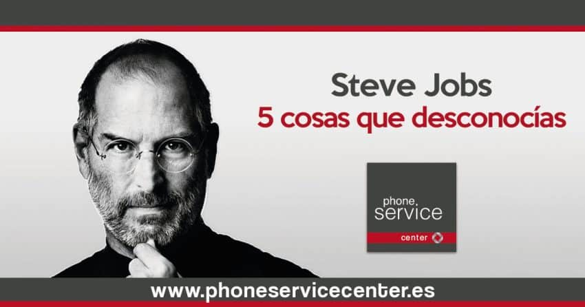5 cosas que desconocias de Steve Jobs