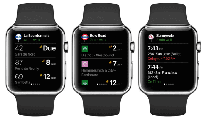 CityMapper Apple Watch Series 2