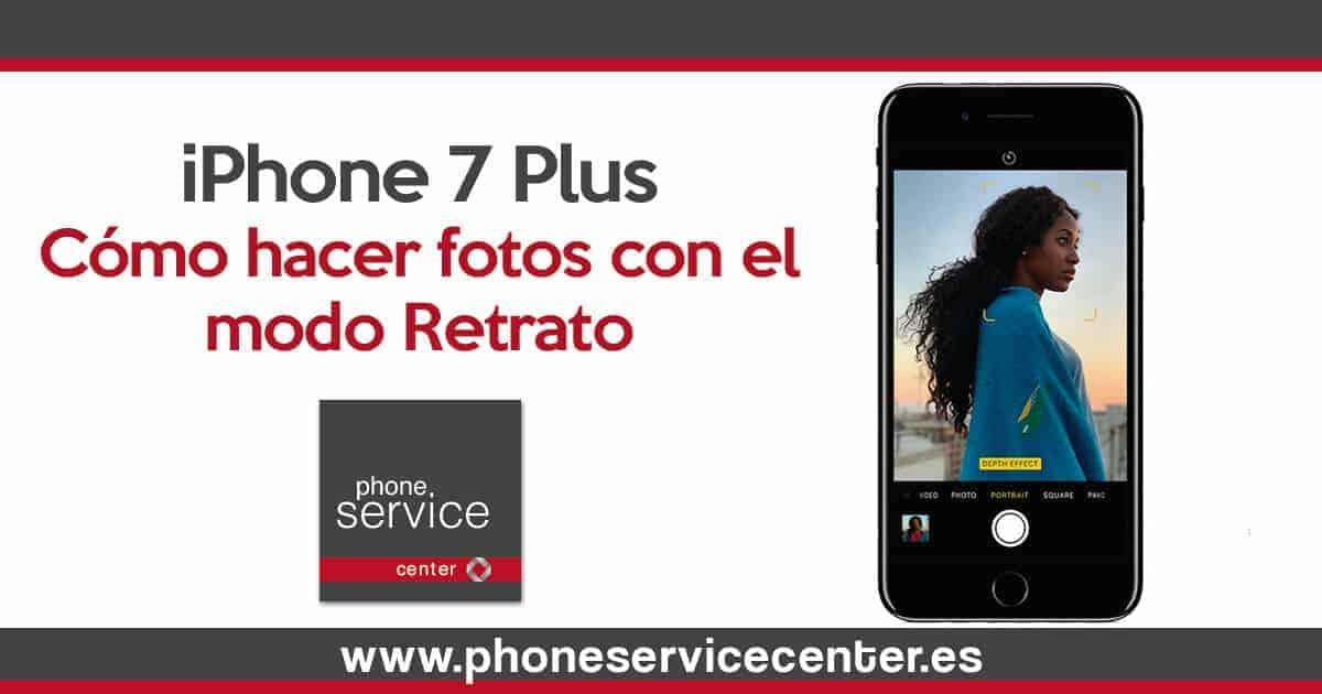 Como hacer fotos con el modo retrato en el iPhone 7 Plus