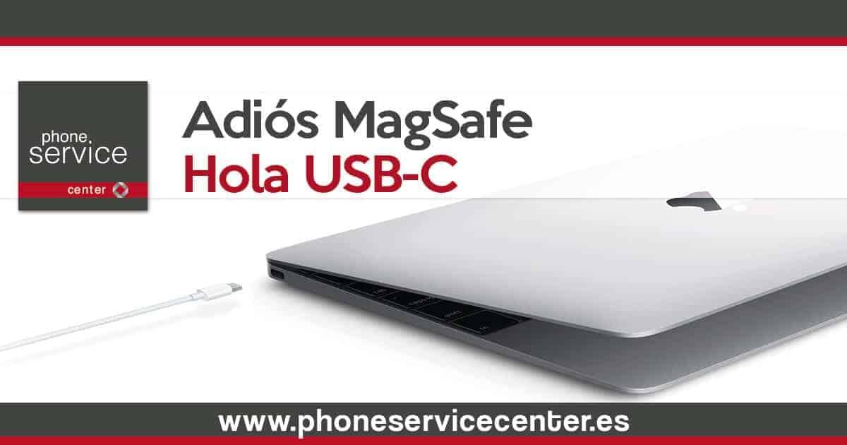 Desaparece el conector MagSafe en los nuevos MacBook Pro