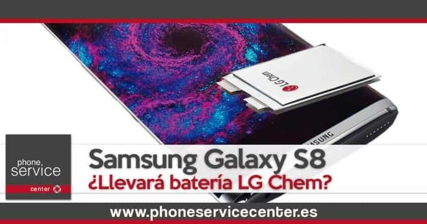El Samsung Galaxy S8 tendra bateria LG Chem