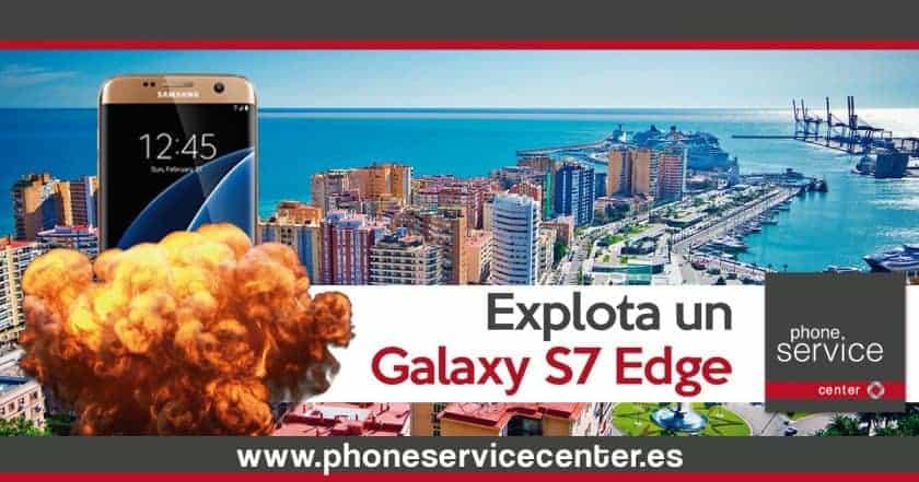 Explota un Samsung Galaxy S7 Edge