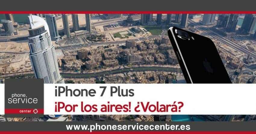 Lanzan un iPhone 7 Plus desde el edificio mas alto del mundo