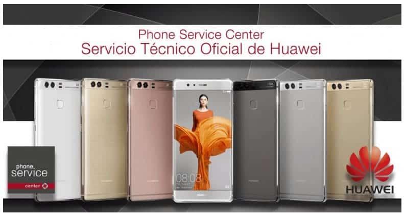 Phone Service Center es Servicio Tecnico Oficial de Huawei