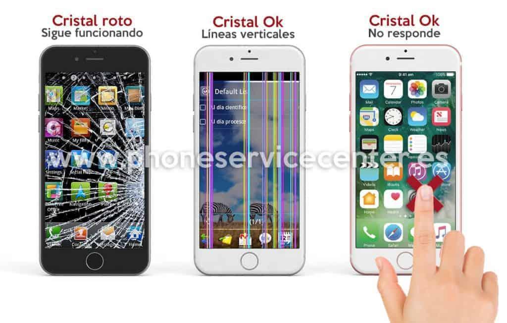 Rotura Pantalla Iphone