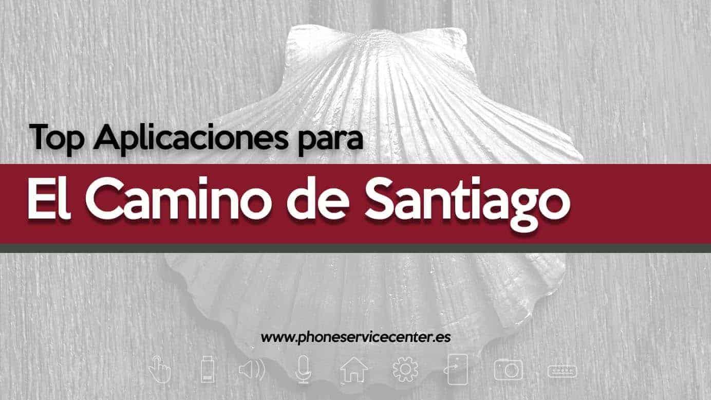 aplicaciones para el camino de Santiago