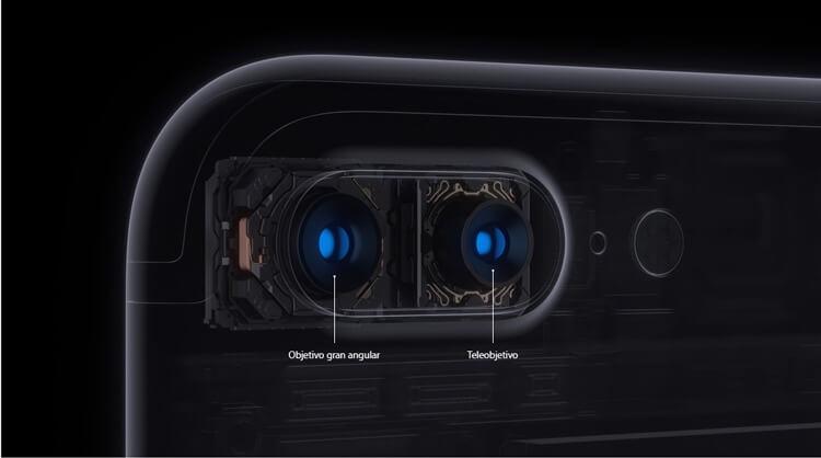 Doble camara iPhone 7 Plus