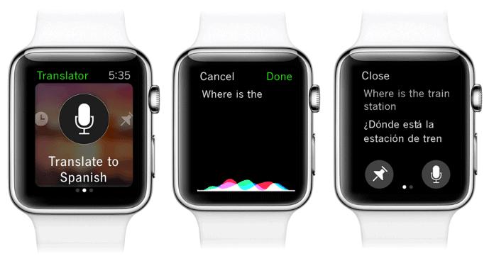 iTranslate Apple Watch Series 2