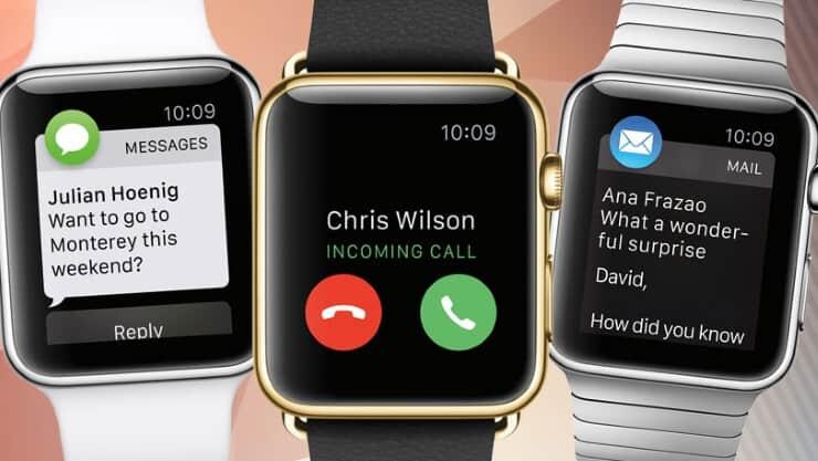 Apple Watch notificaciones