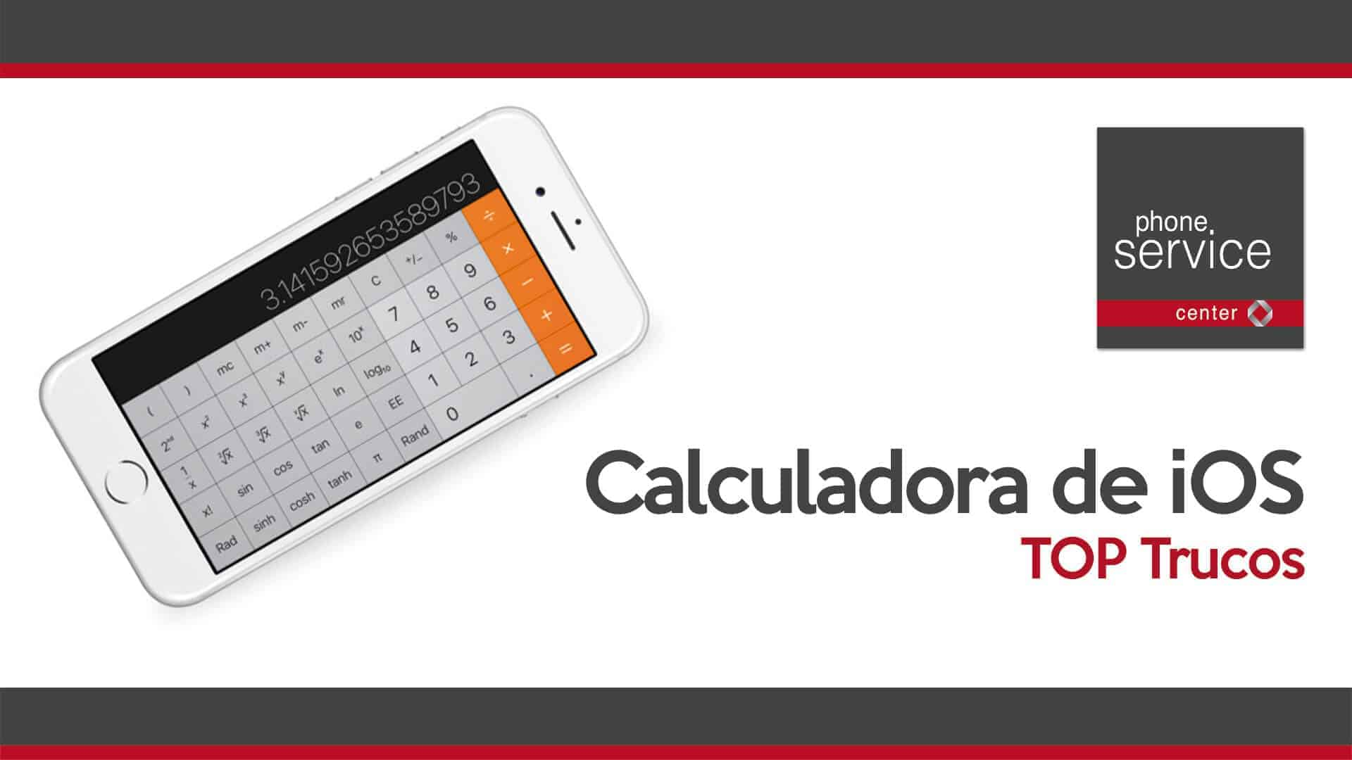 Calculadora de iOS Top trucos