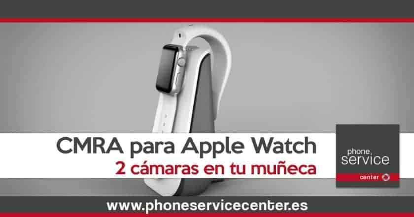 El Apple Watch pronto tendra dos camaras