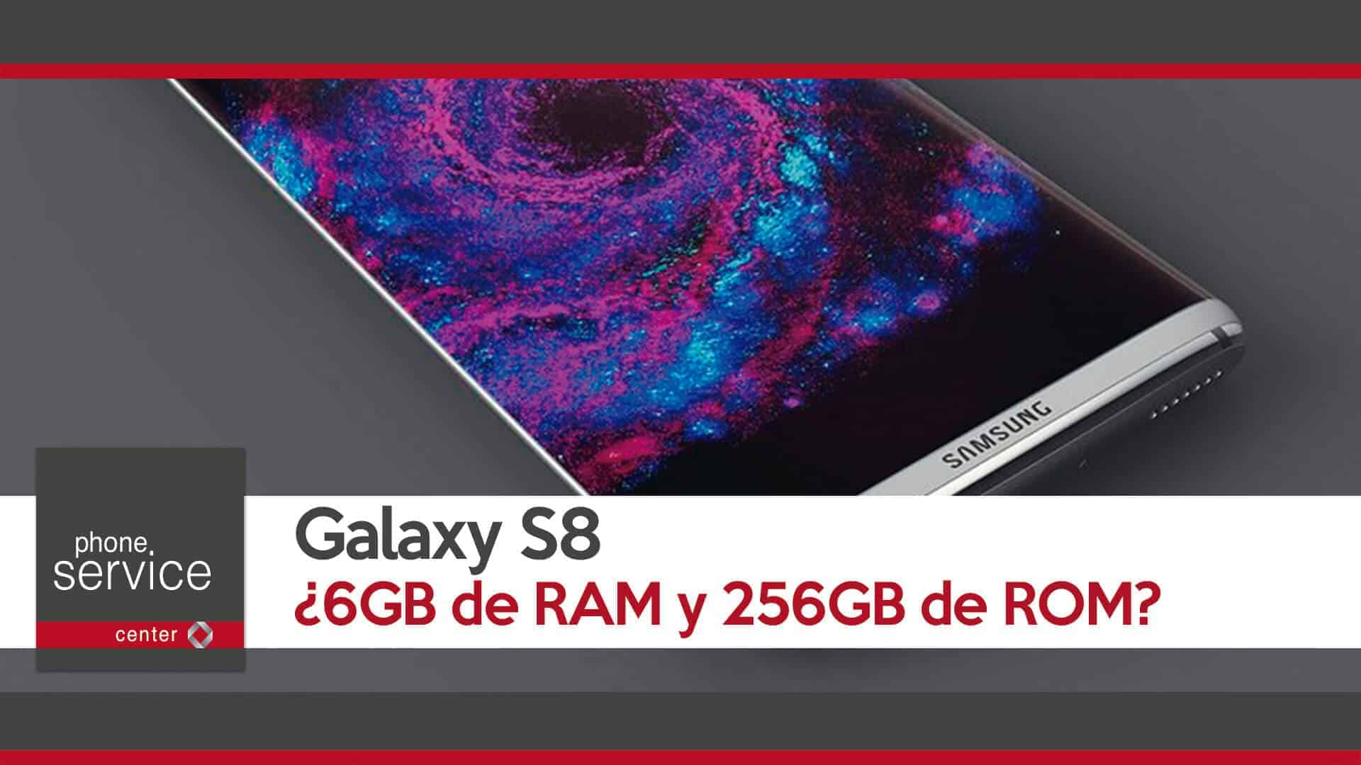 El Galaxy S8 se supera en RAM y ROM