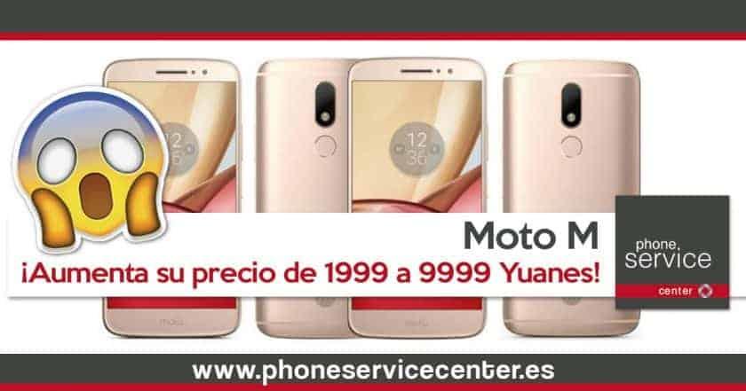El Moto M aumenta su precio