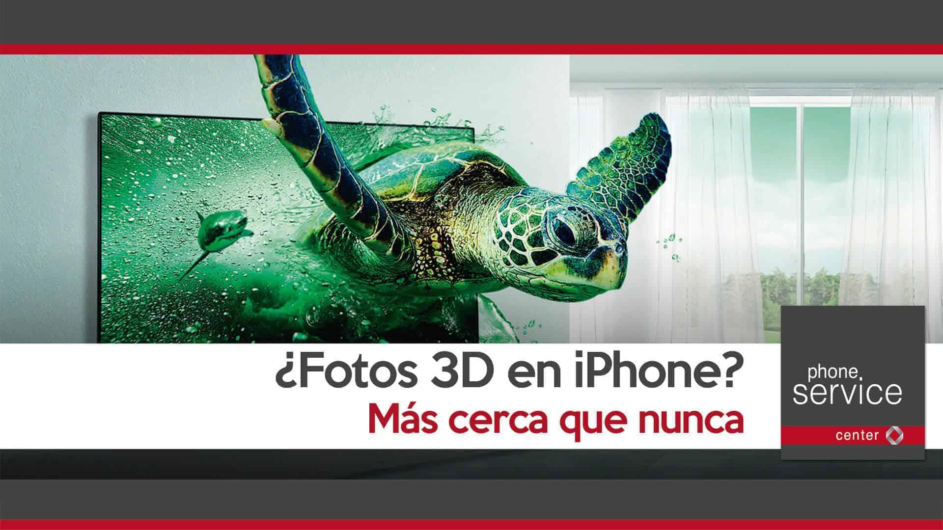Fotografias 3D en iPhone