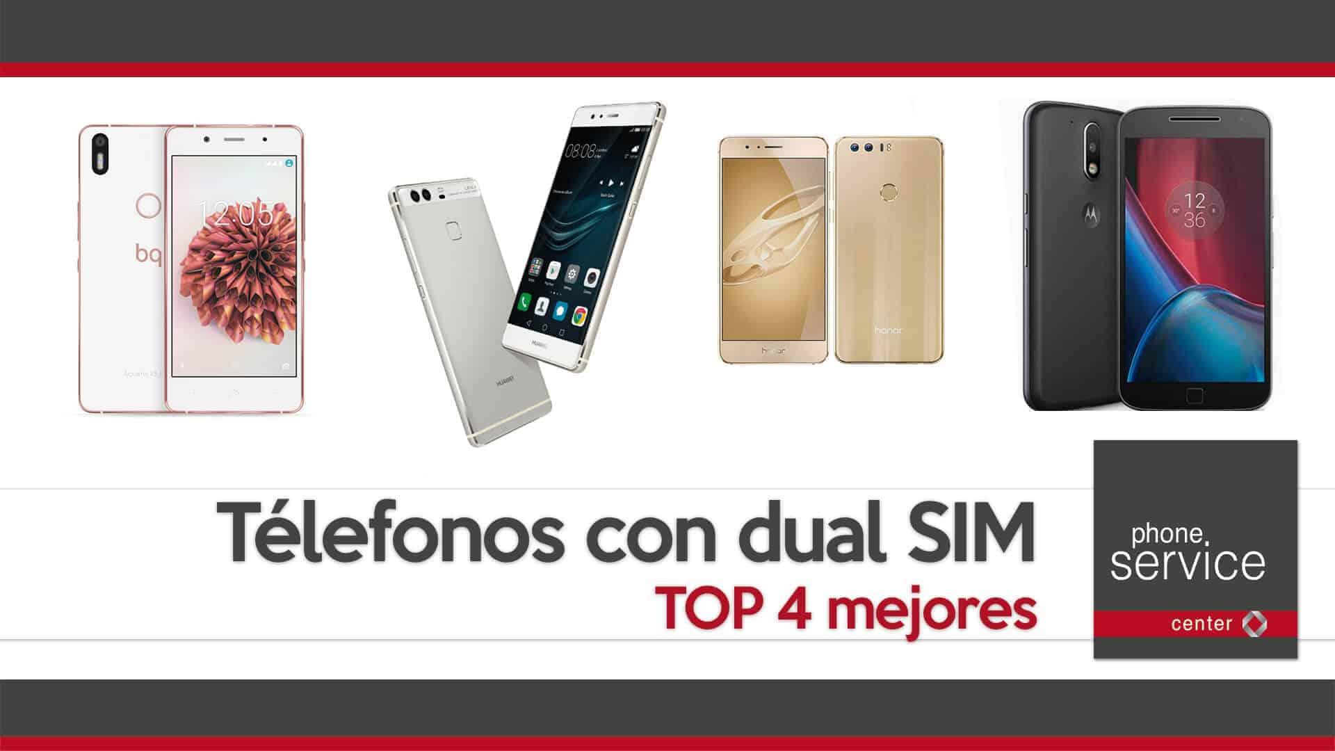 Los mejores telefonos con dual SIM