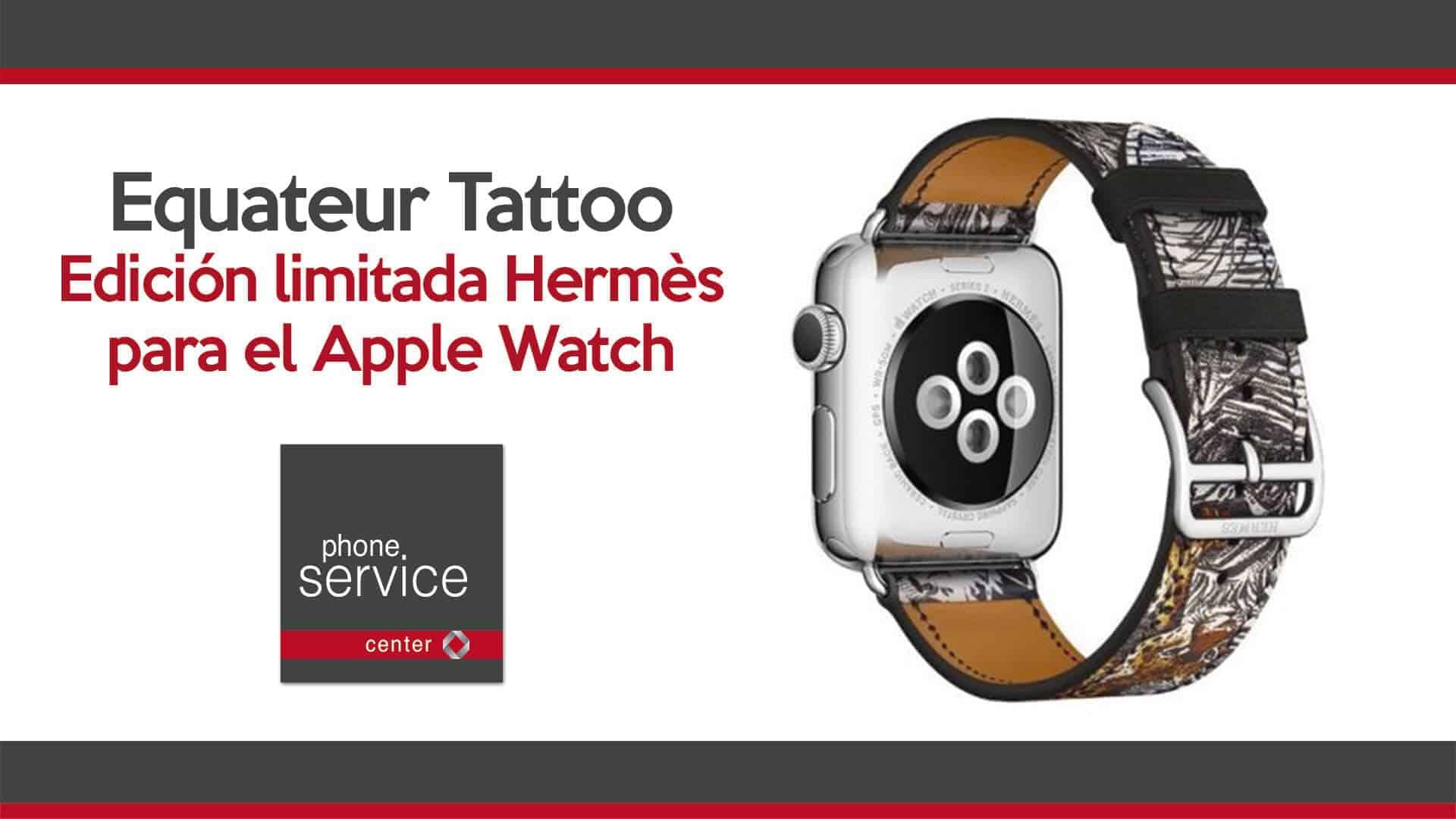 Nueva correa Hermes para el Apple Watch