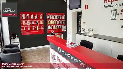 Reparacion de moviles en madrid Phone Service Center Pza Rep Dominicana 8 Madrid