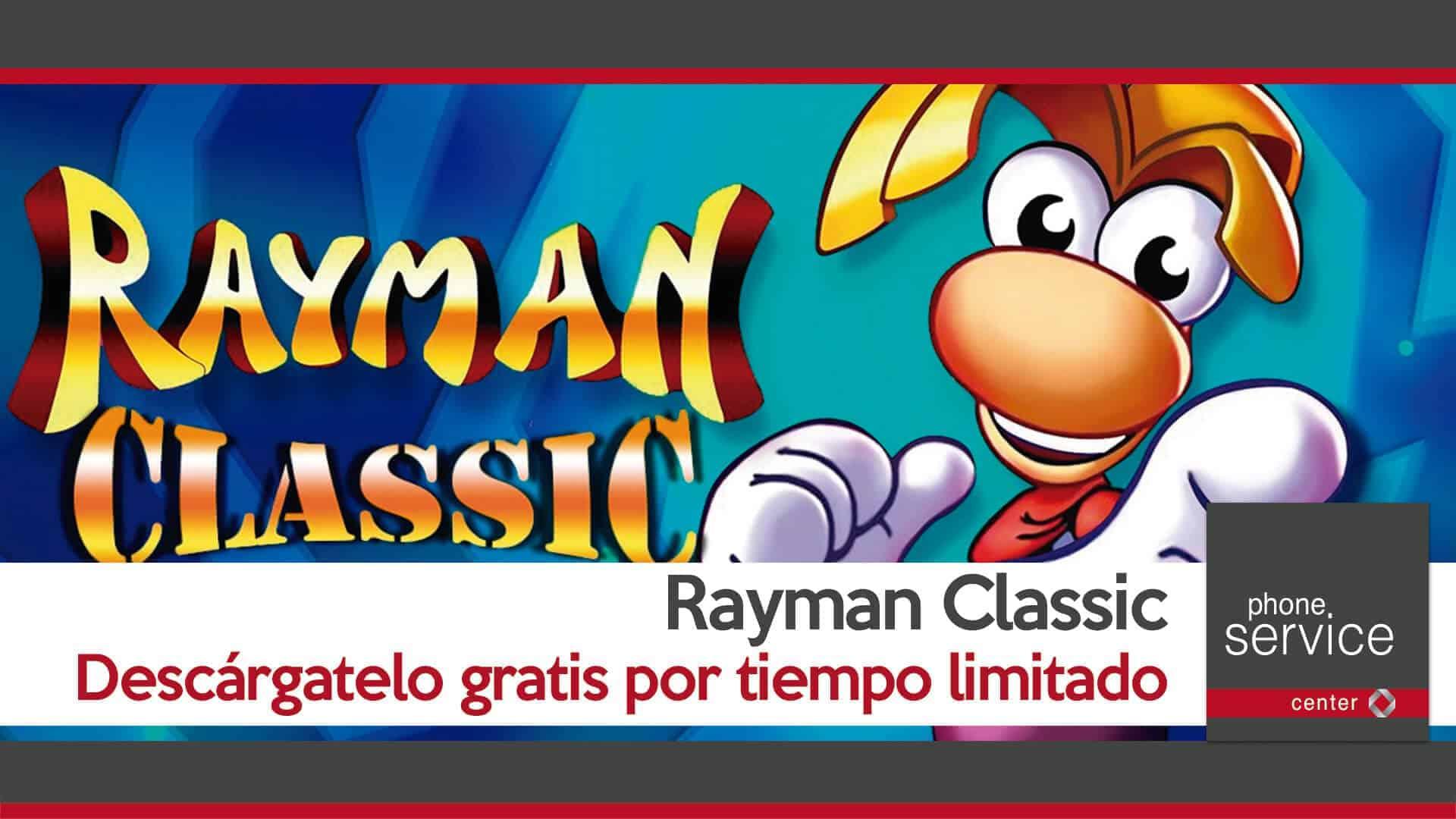 Rayman Classic gratis por tiempo limitado