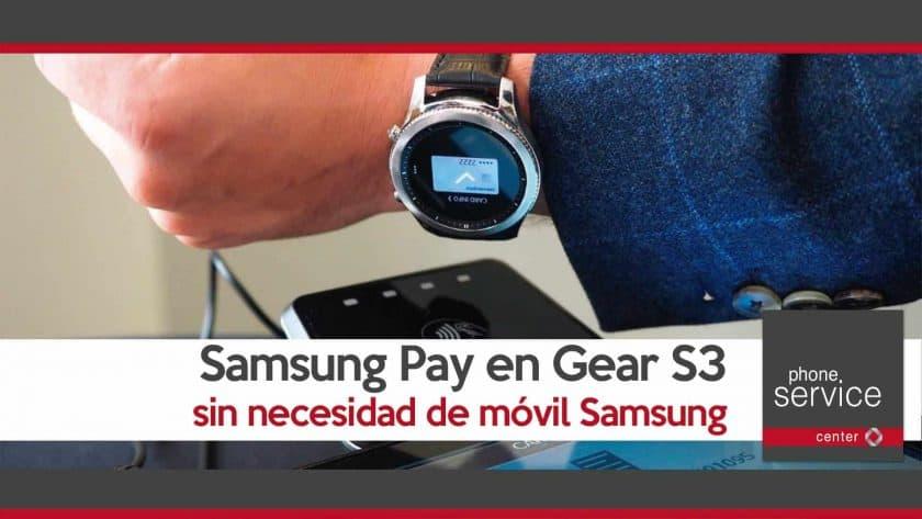 Samsung Pay en Gear S3