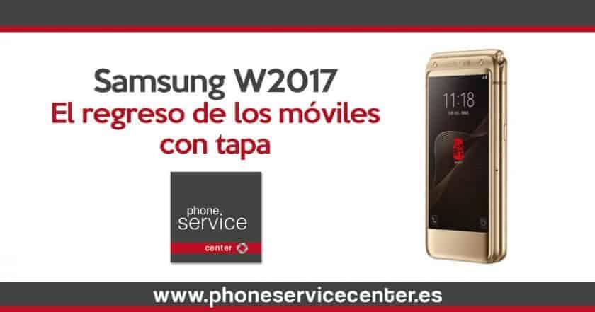 Samsung W2017 el regreso de los moviles con tapa