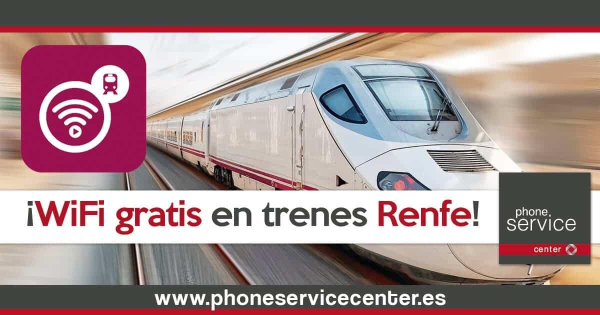 WiFi gratis en trenes Renfe