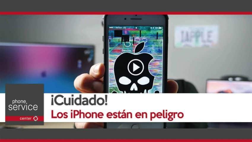 circula un video que bloquea los iPhone