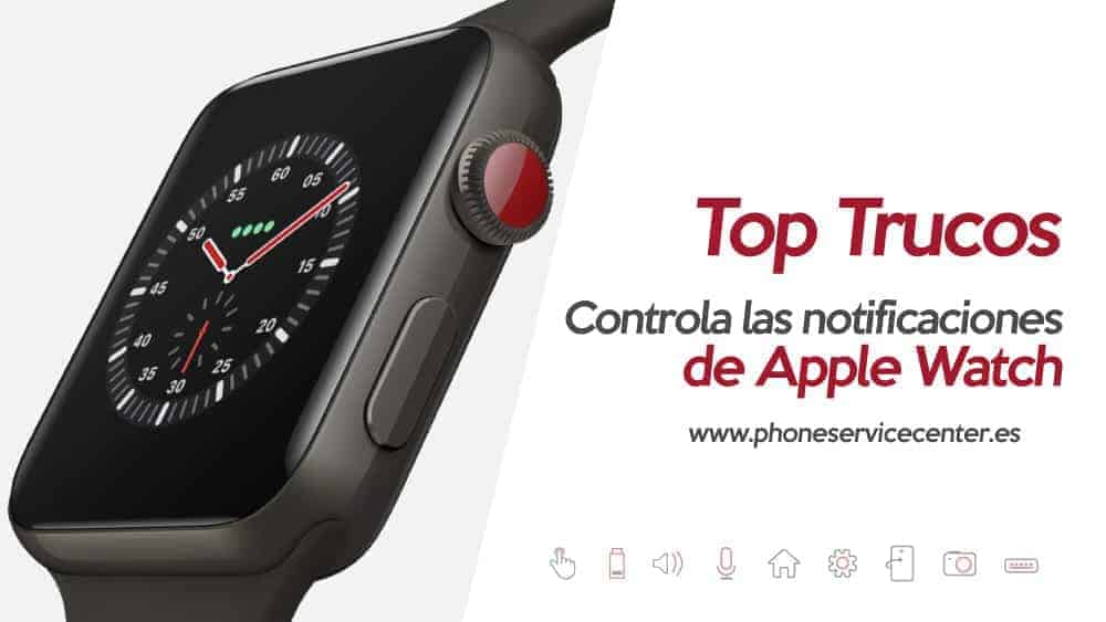 notificaciones en Apple Watch