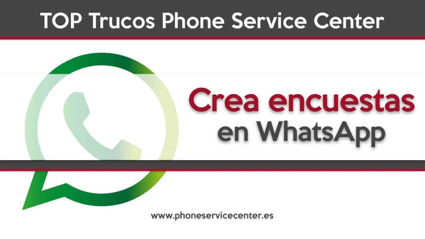 crea encuestas en WhatsApp