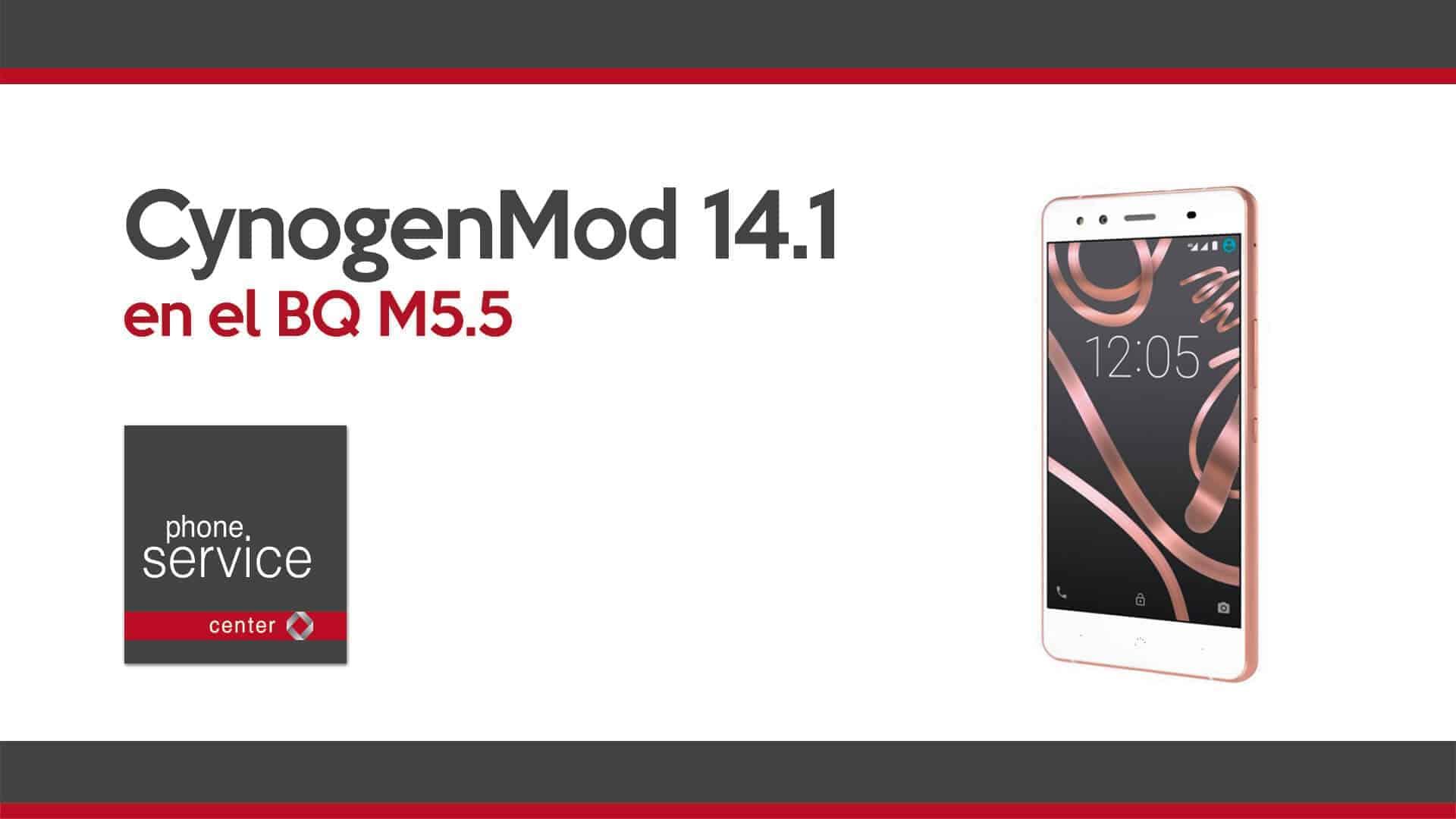 CynogenMod 14.1 en BQ M5.5