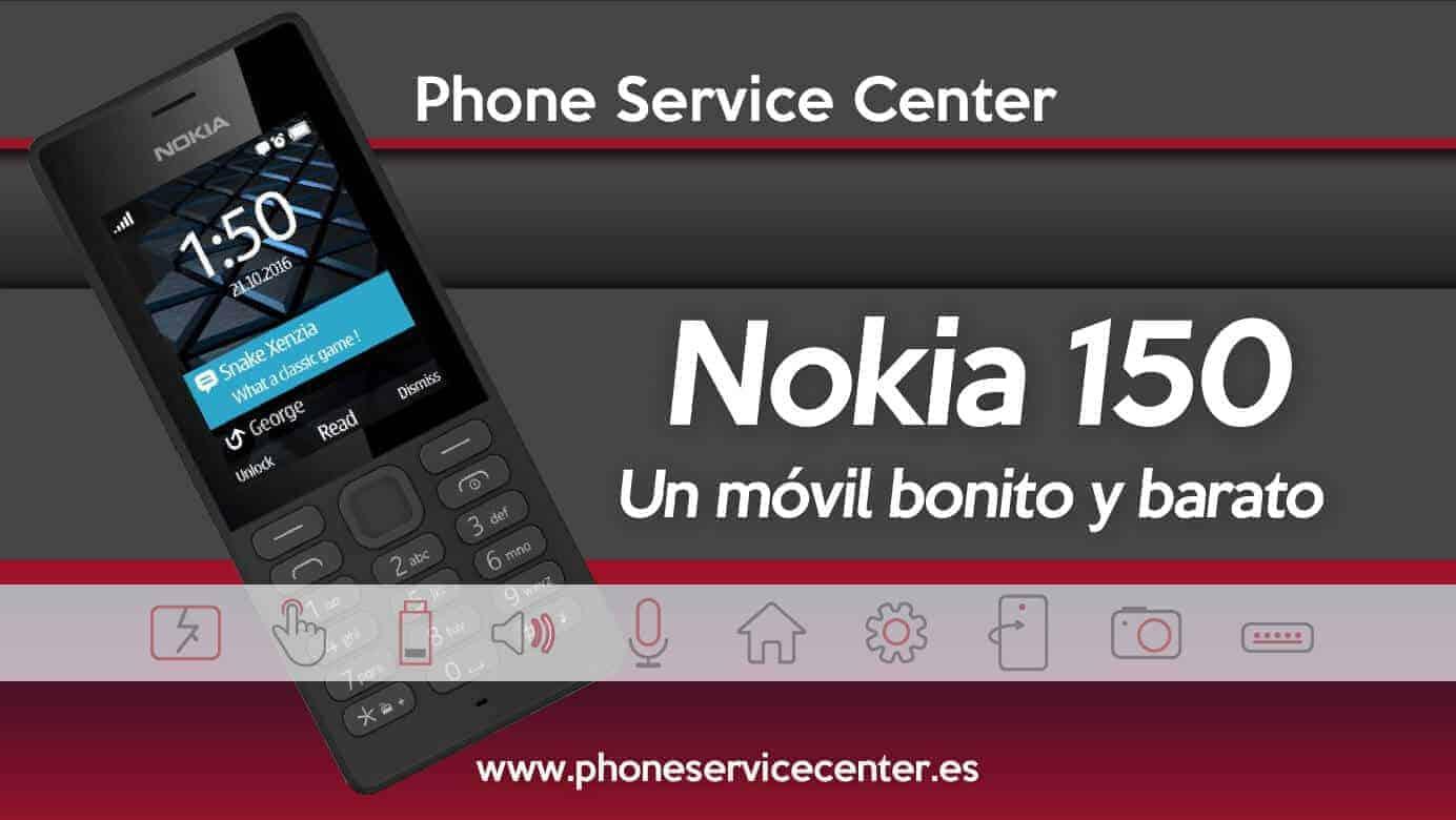Nokia 150 Bueno bonito y barato